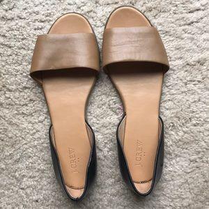 J. Crew Flats Sandals